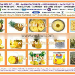 FRESH PINE APPLE FRUIT - MULBERRY - TIDA KIM PRODUCTION - NATURAL 100% PURE VIETNAM ORIGIN - IQF USED CANNED PIECED
