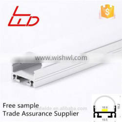Suspended aluminum profile for led batten ceiling light