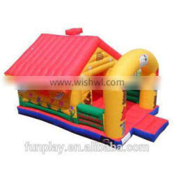 HI Amazing Giant Inflatable Bouncer Slide,adult inflatable slide,inflatable bouncer for kids