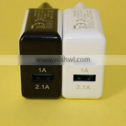 EU charger with 2 USB for mobile tablet