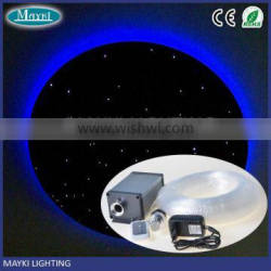 DIY-250 ceiling light color changing led with plastic fiber optic cable and led light generator