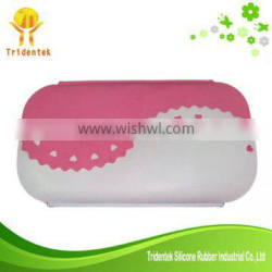 260mm Portable Preservation Silicone Kids Lunch Box