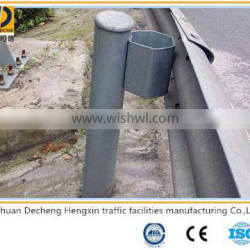 China new style plastic spraying highway guardrails for sale