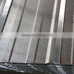 1000 Series Grade and Embossed Surface Treatment corrugated aluminum roof panels