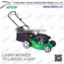 """Hand Push Gasoline Lawn Mower/Lawn mower with 20"""" blade"""