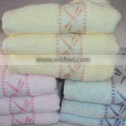 colorful children terry towel