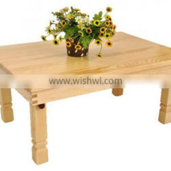solid wood dining table/camping table/child table