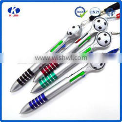 2016 Wholesale fashion football ballpoint pen with customized design for gift Supplier's Choice