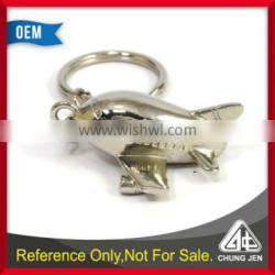Customized Japanese airlines airplane 3D keychain for gifts
