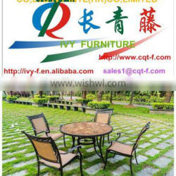 Factory Price Doll Mini ceramic Dining Table and Chair Dining Room Set 5pcs ,KD