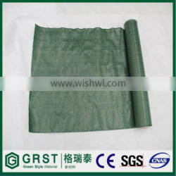 Black green brown plastic ground cover weed control mat