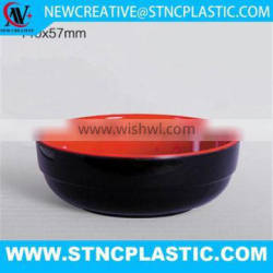 Advanced design of the melamine bowl for food