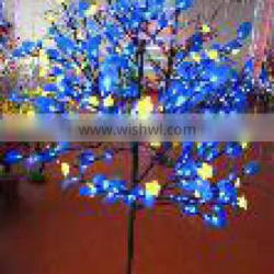 The shape of the tree outdoor led flower tree light