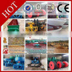 HSM CE CIQ wet pan mill used for selecting gold /sliver /copper ore
