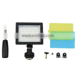 JJC 96 LED With Three Diffusers Hand Grip Studio Video Light Lamp for Nikon, for Canon,for Sony Camera