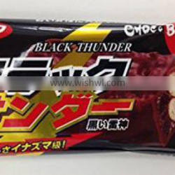 Japan Chocolate Snack Black Thuder Popular Okashi