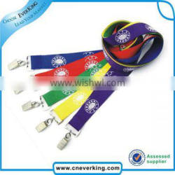 Colorful cheap custom lanyards no minimum order