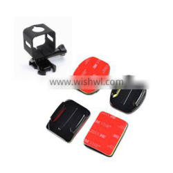Flat and curve 3M stick adhesive mount for Polaroid Cube and Go Pro
