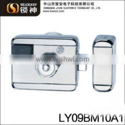 Smart IC card mute and remote control high security burgalr proof lock for door