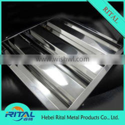 Galvanized Baffle Grease Filter For Vent Hood