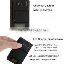 universal charger,Car Battery Charger ,multi-purpose battery charger with lcd screen For Samsung for iphone for HTC etc.