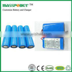 Mini Portable Technology High Energy Density Deep Cycle Battery 3.7V-24V