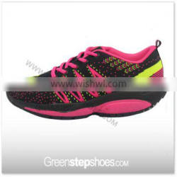 Lady And Men Flyknit Best Support Wedge Sneakers Running Shoes