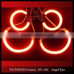 Red Halo rings for Camry 03-06 CCFL Angel Eyes kits for Toyota Camry