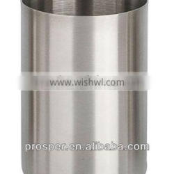 Decorative metal tumbler for bathroom