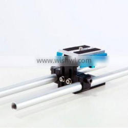 WONDLAN Small 15mm Rod DSLR Camera Baseplate PS28
