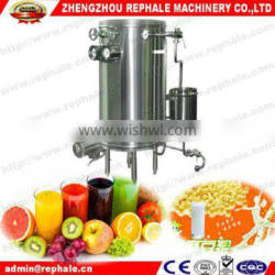 Flash milk pasteurizer machine for juice and milk and soyamilk