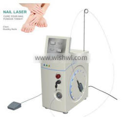 Portable nd yag nail fungus laser with Intelligent alarm system