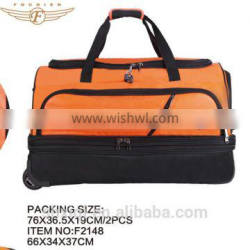 Foldable bags trolley