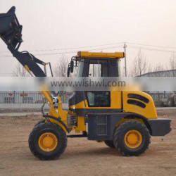 1.8t front end wheel loader for sale with weichai 4102