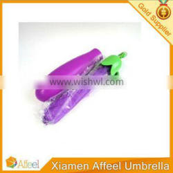 new product eggplant carrots folding umbrella
