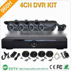 outdoor h.264 standalone network dvr with camera kit for wholesales