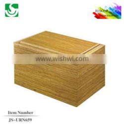 JS-URN659 wholesale high quality wooden urns for ashes