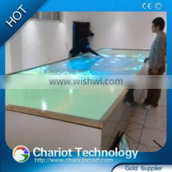 Wonderful Chariot multi touch screen technology for advertising display,window sisplay,glass showcase