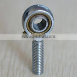 POS series spherical plain bearing and rod ends requiring maintenance connecting rod bearing with male thread on rod body