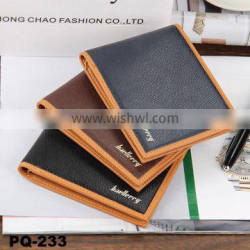 Baellerry New Short style men men's leather wallet