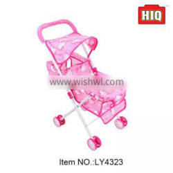 Excellent quality plastic carrying trolley for baby reborn baby stroller