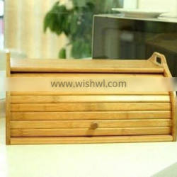 bamboo bread box,kitchen bread box,wooden bread box