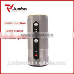 JB1205 Multi-function jump starter with bluetooth speaker 8000mAh charge for notebook for vehicle car for smartphone