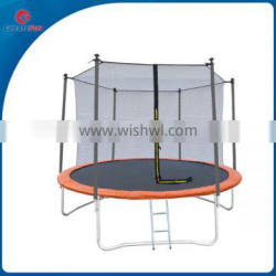 CreateFun Silver Sports 8ft Round Trampoline With Replacement