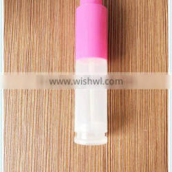 15ml empty plastic cosmetic packing tube shape perfume bottle pen spray bottle with rotary switch pump