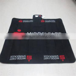 Custom Brand Waterproof Polar fleece Throw, Picnic Rug for Promotional Gift