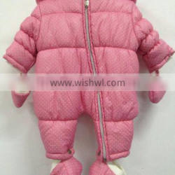 2016 Winter Fashion Baby Romper With Warm And Lovely Style