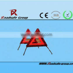 2015 hig quality manufacturer reflecting traffic triangle traffic sign