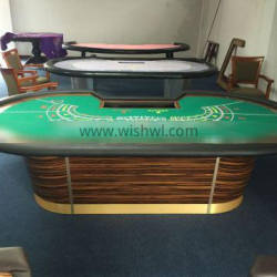 Professional Casino Set Gaming Table / Baccarat Table / Table Felt