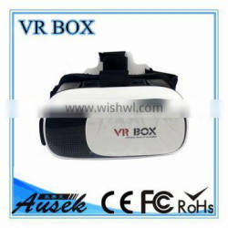bluetooth remote control Plastic vr box 3d vr glasses virtual reality headset for smartphone with Gamepad